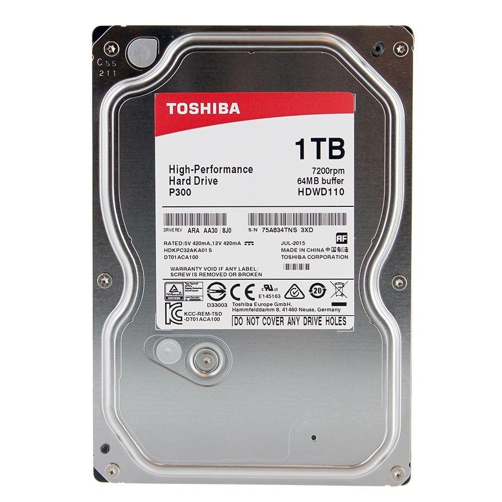 1TB Toshiba DT01ACA100 HDD