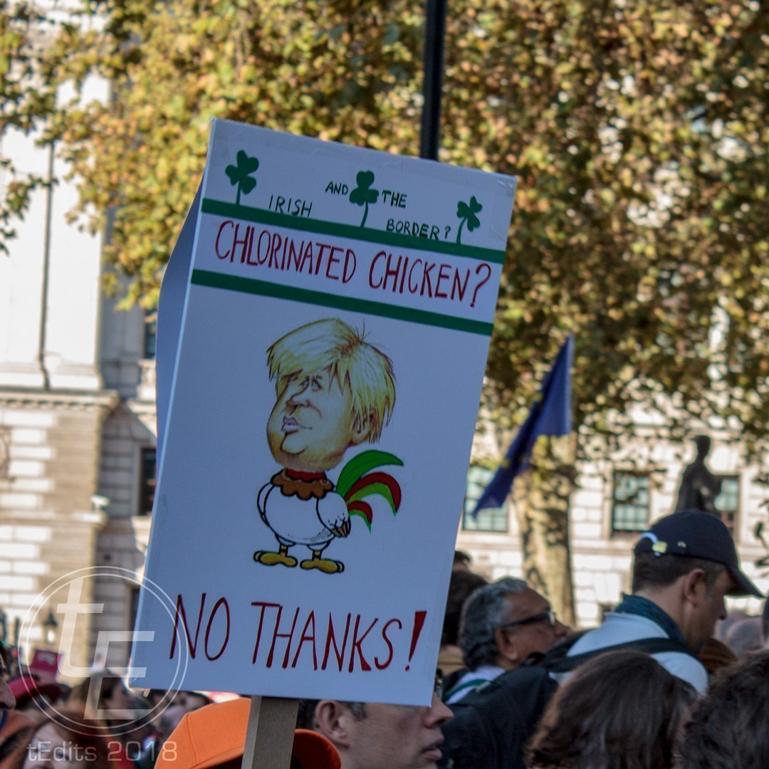 2018 People's Vote March - Chlorinated Chicken