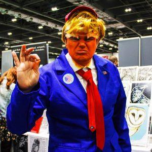 Trump Cosplay   MCM Comic Con 2018