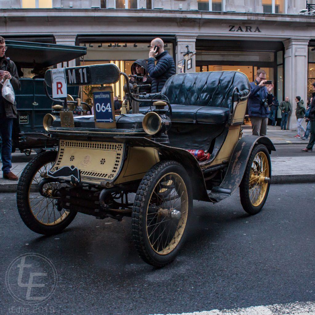 1901 De Dion Bouton - Regent Street Motor Show 2019