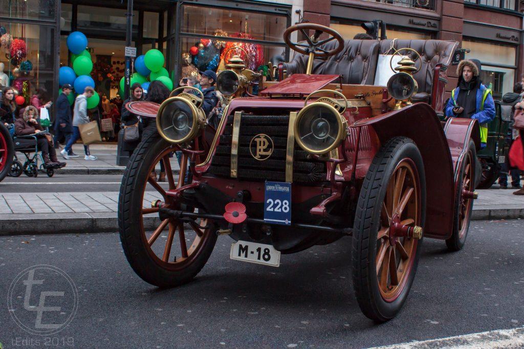 1903 Panhard-Levassor - Regent Street Motor Show 2019