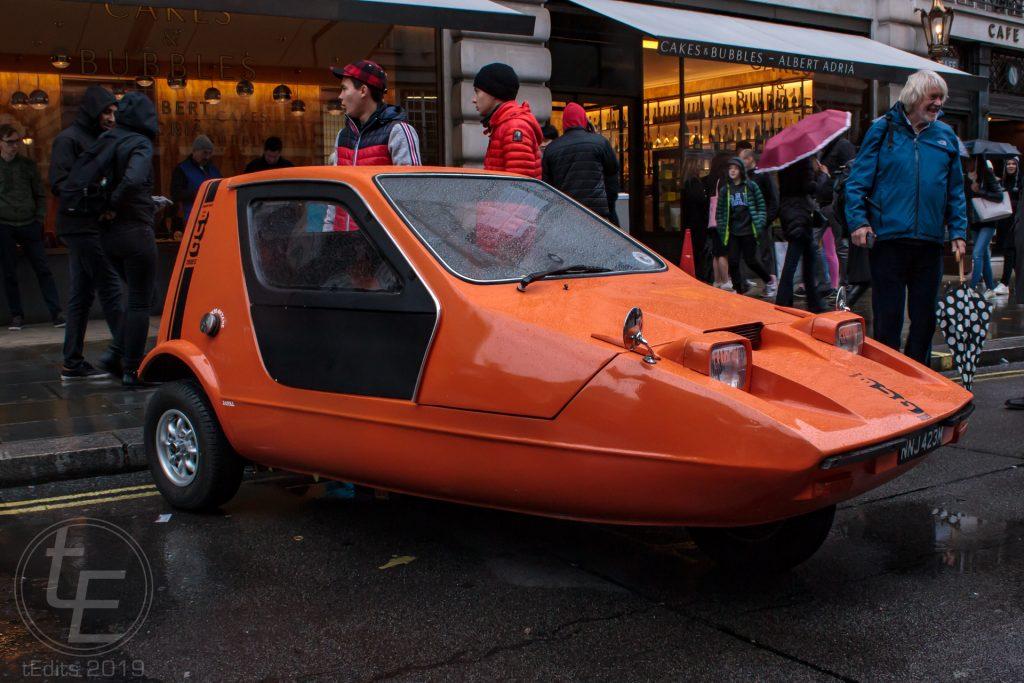 Bond Bug - Regent Street Motor Show 2019