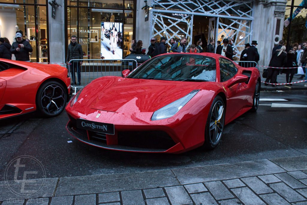 Ferrari 488 - Regent Street Motor Show 2019