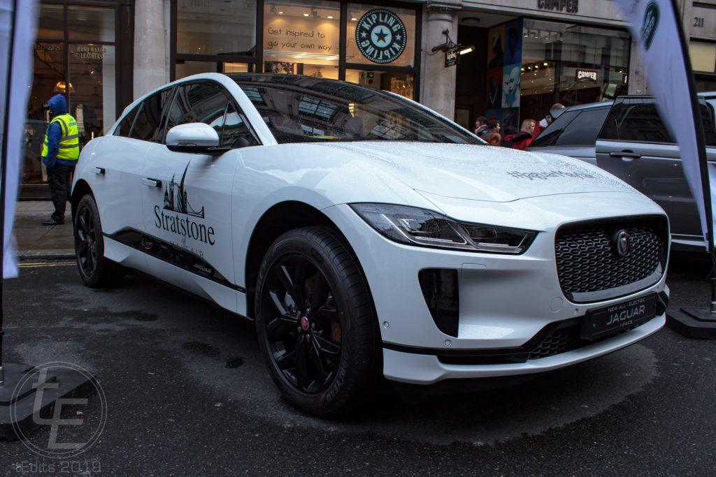 Jaguar iPace Electric - Regent Street Motor Show 2019