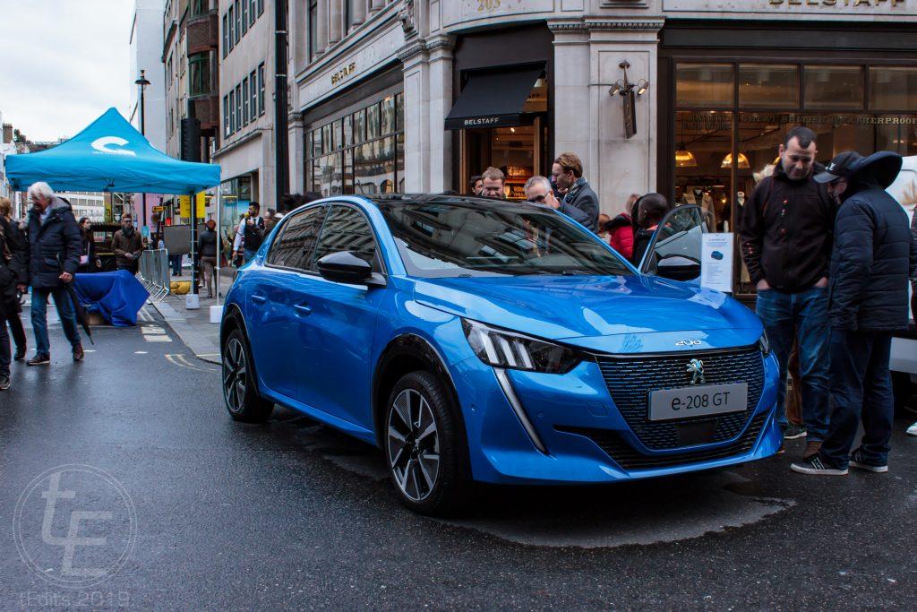 Peugeot e208 GT - Regent Street Motor Show 2019