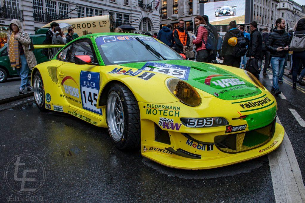 Porsche 911 GT3 RSR Biedermann - Regent Street Motor Show 2019