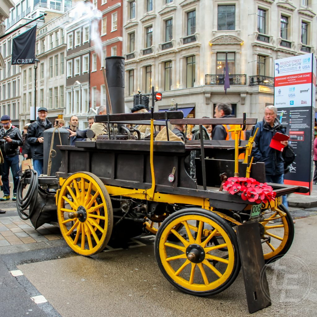 Regent Street Motor Show 2017 - 1896 Salvesen Steam Cart