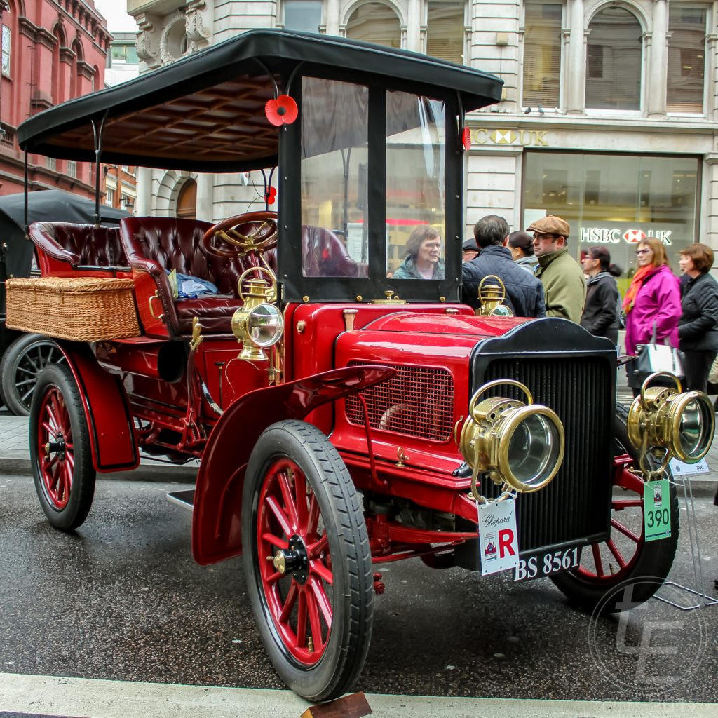 Regent Street Motor Show 2017 - 1904 White (Steam)