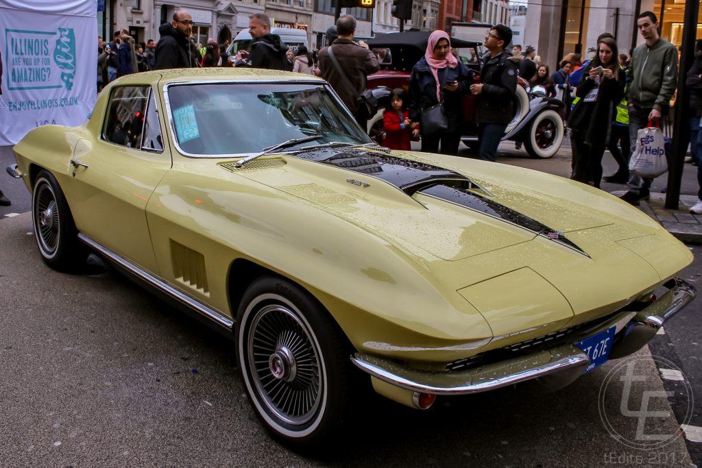 Regent Street Motor Show 2017 - 1967 Corvette Stingray