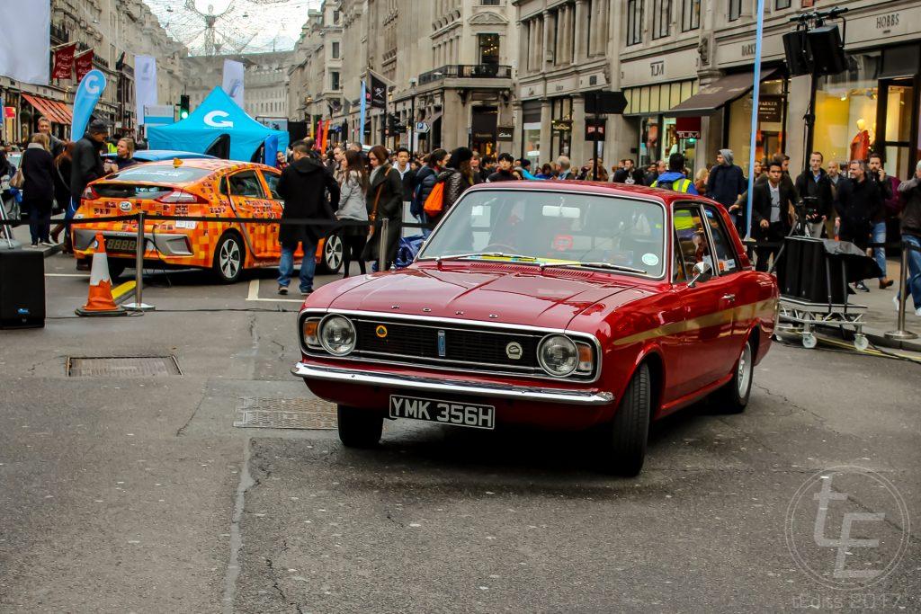 Regent Street Motor Show 2017 - 1970 Ford Lotus Cortina MK2