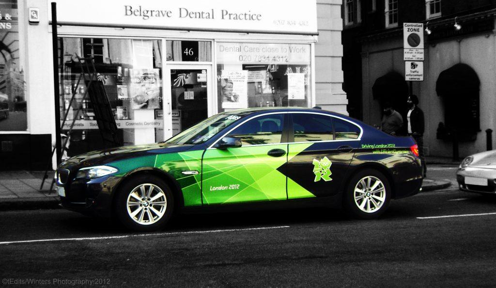 BMW Olympic Car