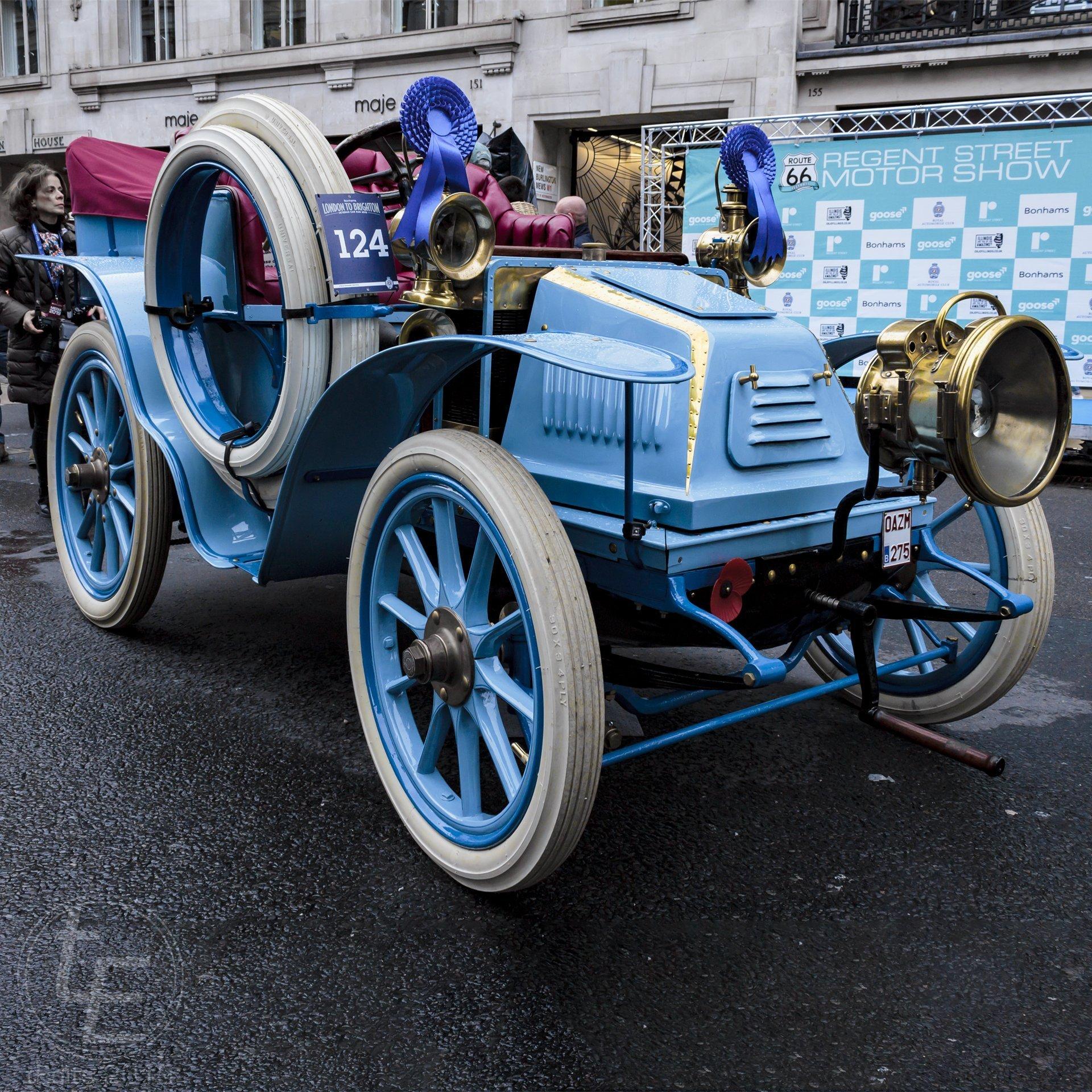 1902 Peugeot - Regent Street Motor Show 2019