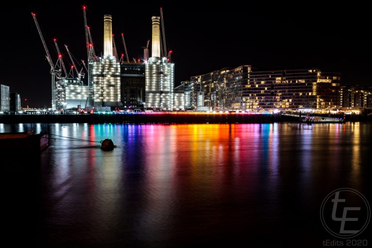 Battersea Power Station Light Festival - Eternal Sundown 1