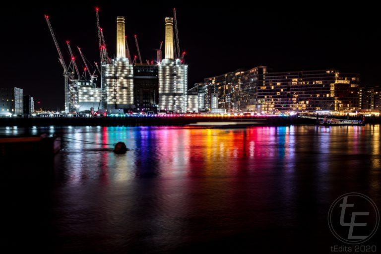 Battersea Power Station Light Festival - Eternal Sundown 2