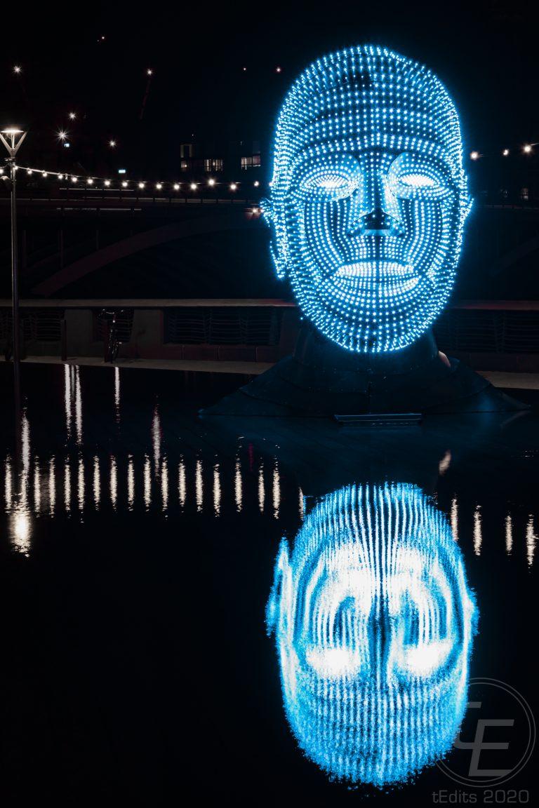 Battersea Power Station Light Festival - Talking Heads 11