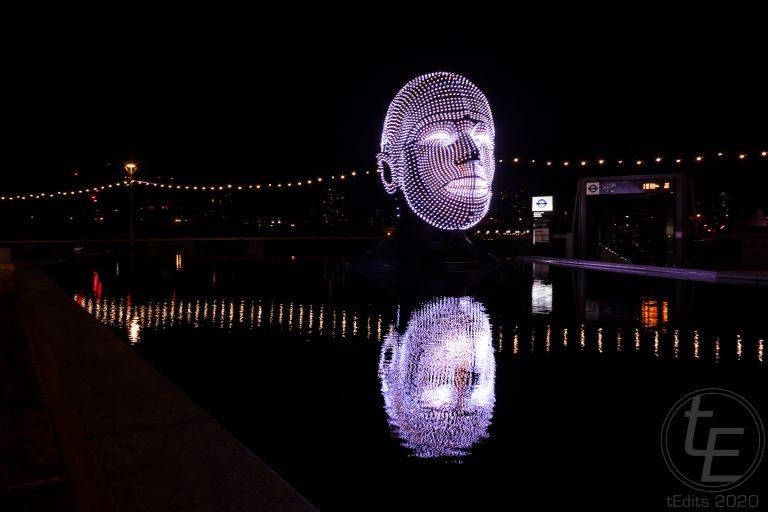 Battersea Power Station Light Festival - Talking Heads 12