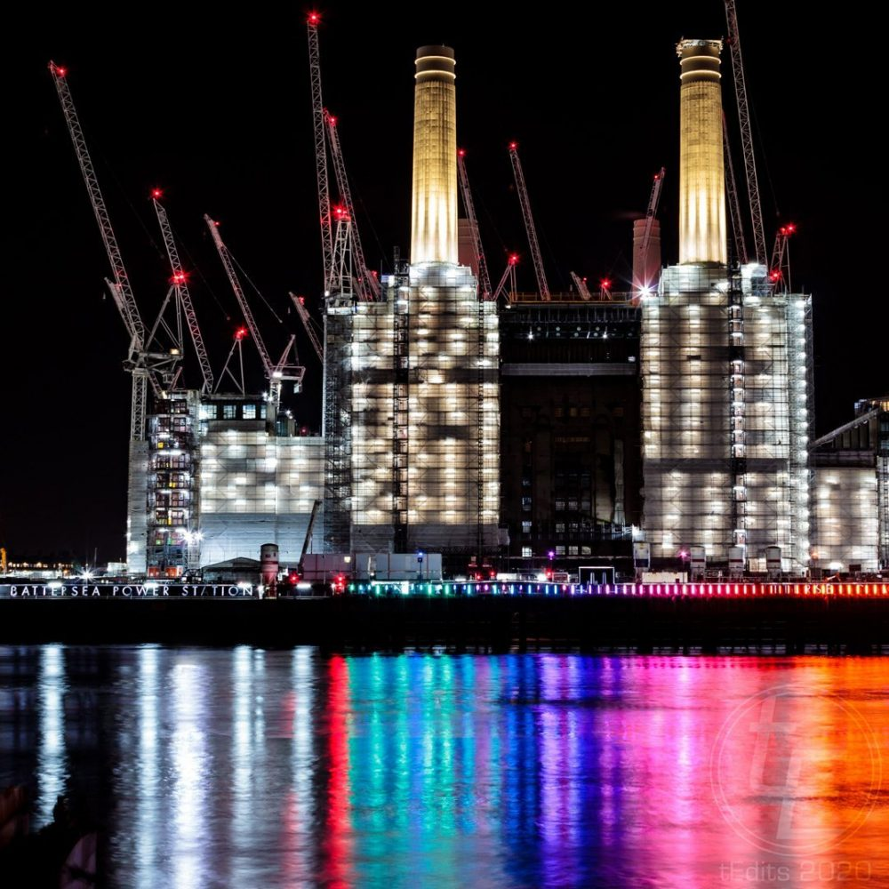 Battersea Power Station Light Festival 2020