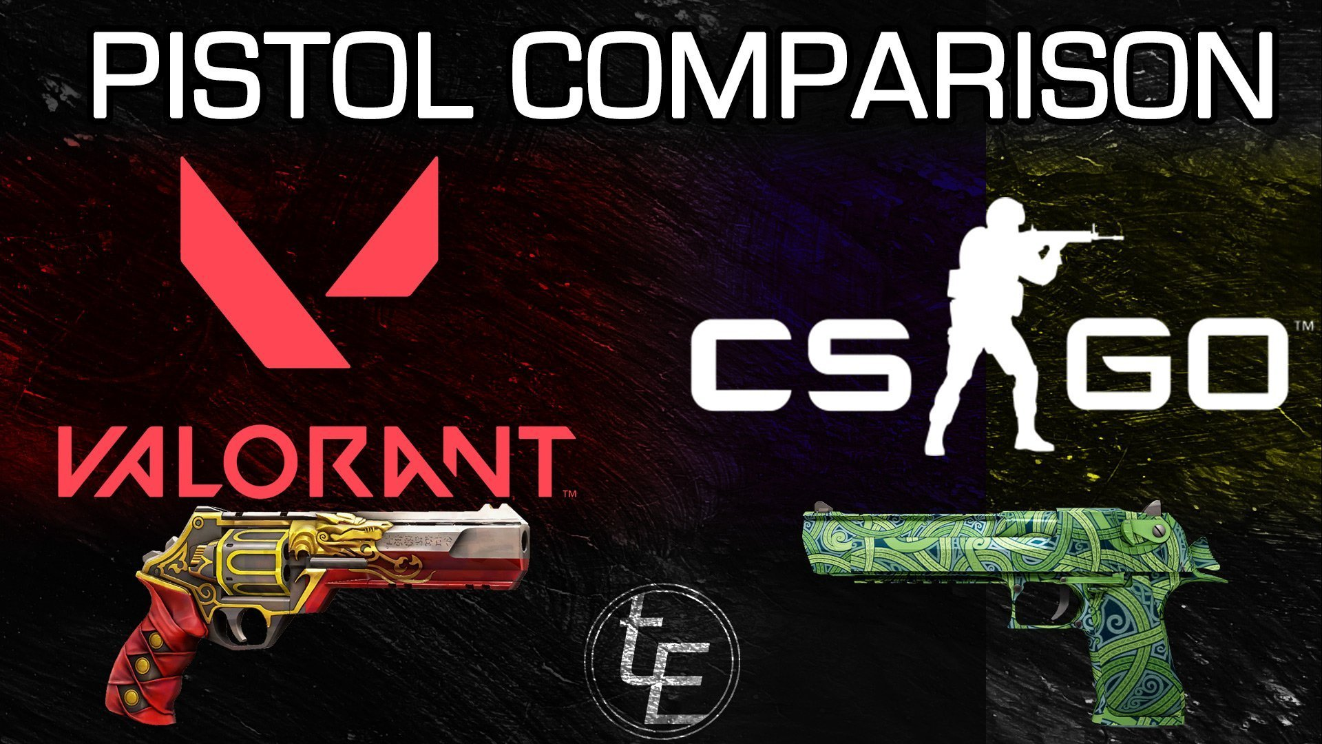 Valorant vs CS:GO   Pistol Comparison