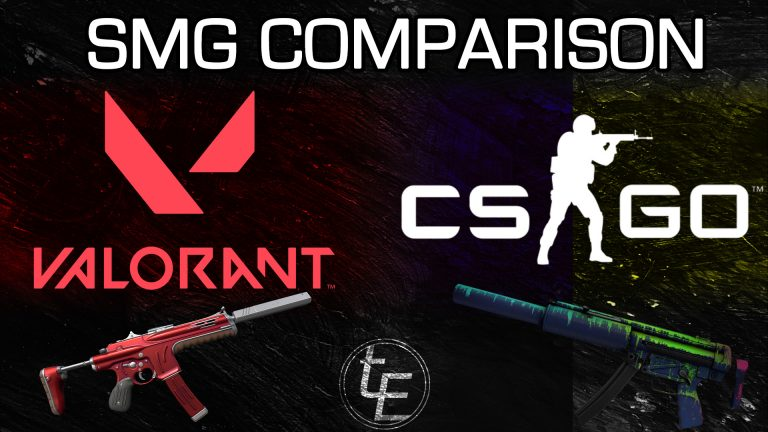 Valorant vs CSGO SMG Comparison