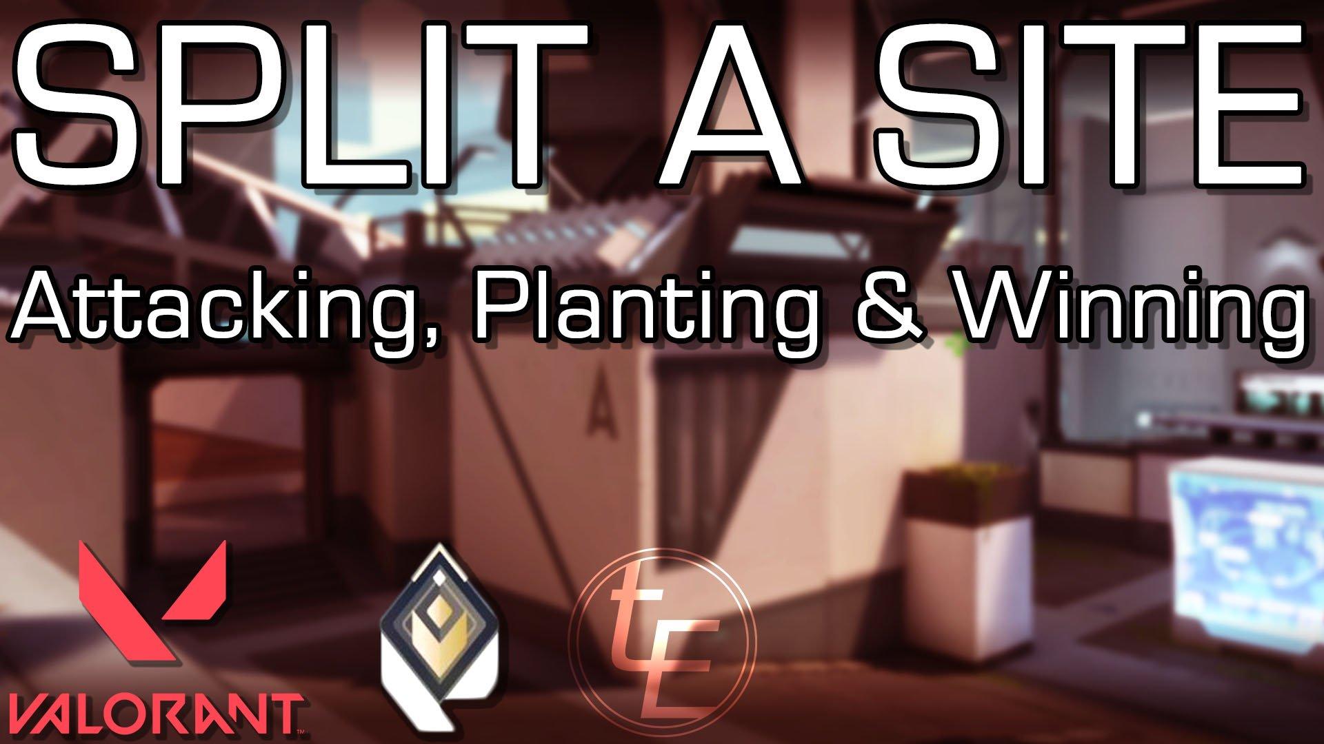Valorant   Split A-Site – Attacking