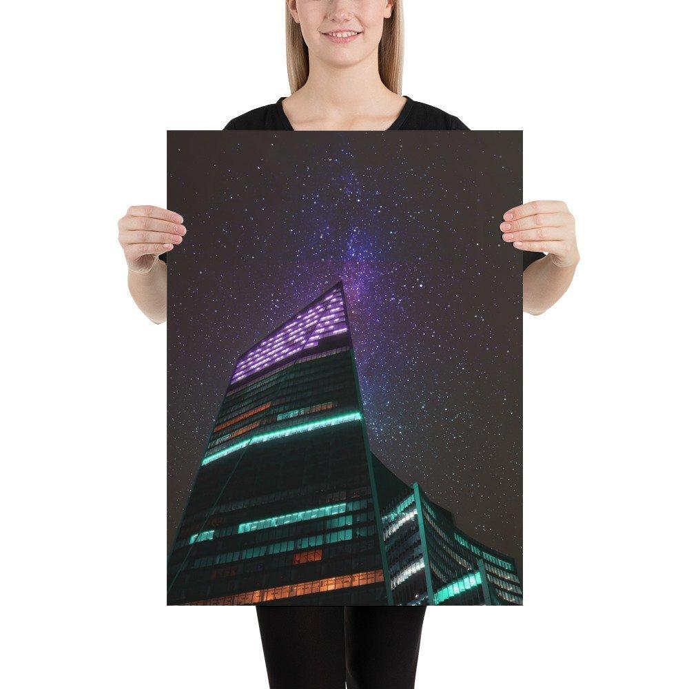 The Scalpel | Neon London | Poster