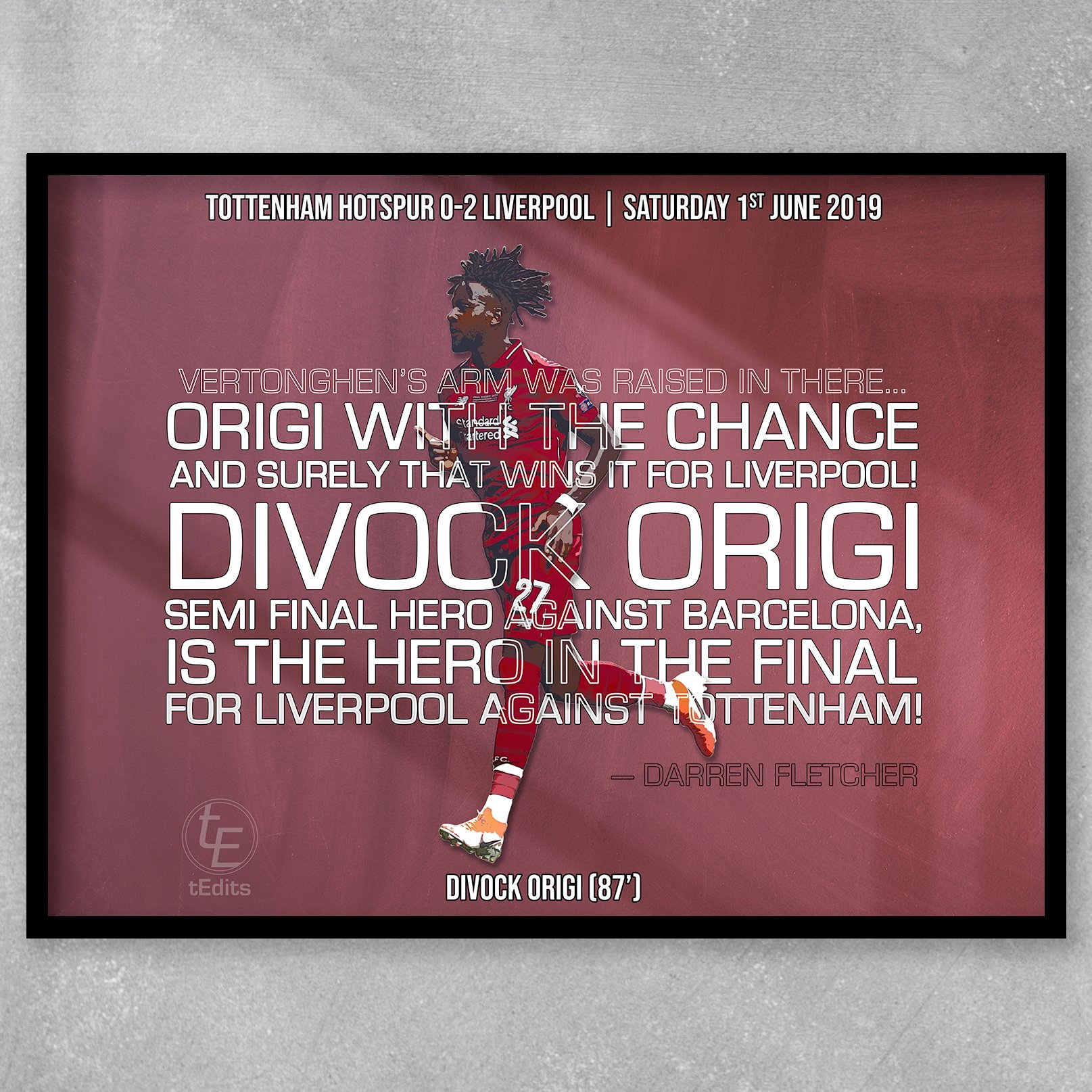 Divock Origi vs Tottenham, 2019 | Football Moments