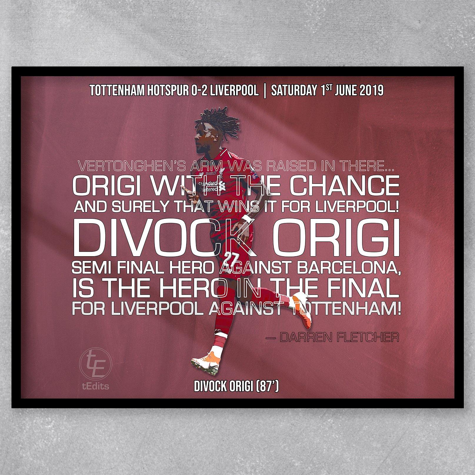 Divock Origi vs Tottenham, 2019 | Football Moments