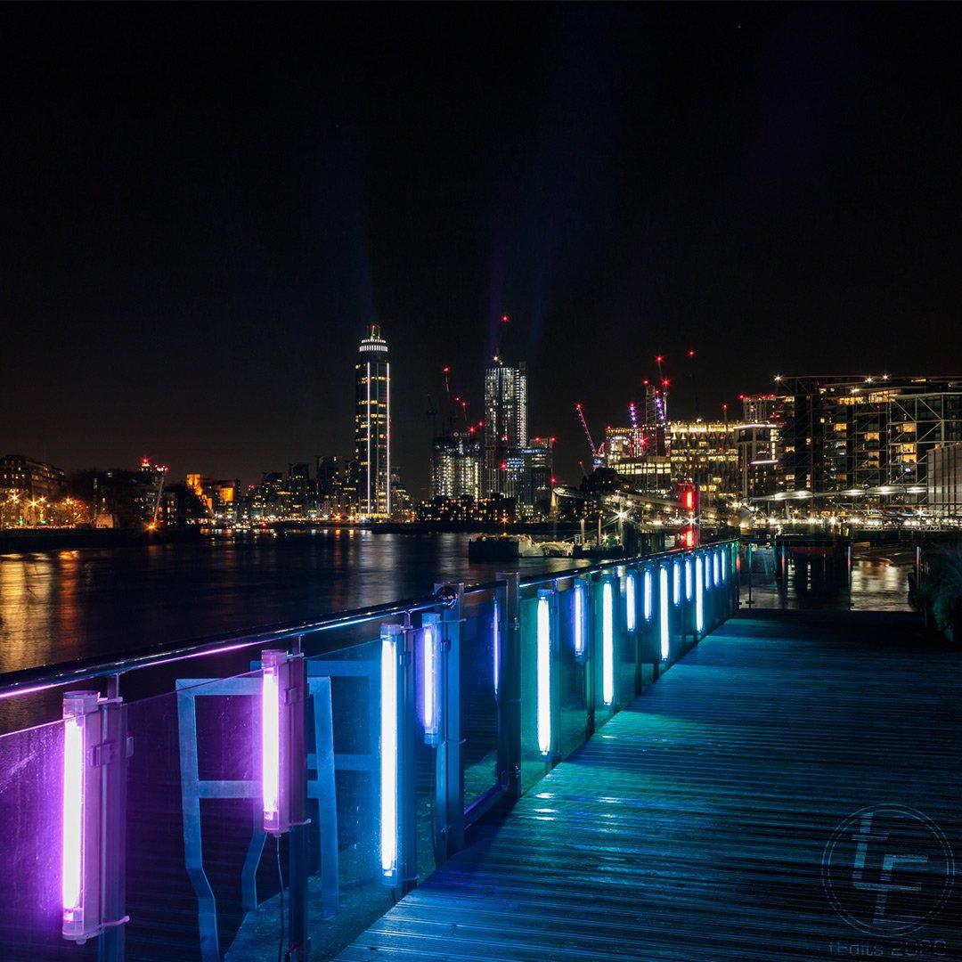 Battersea Power Station Light Festival 2020 - Nine Elms