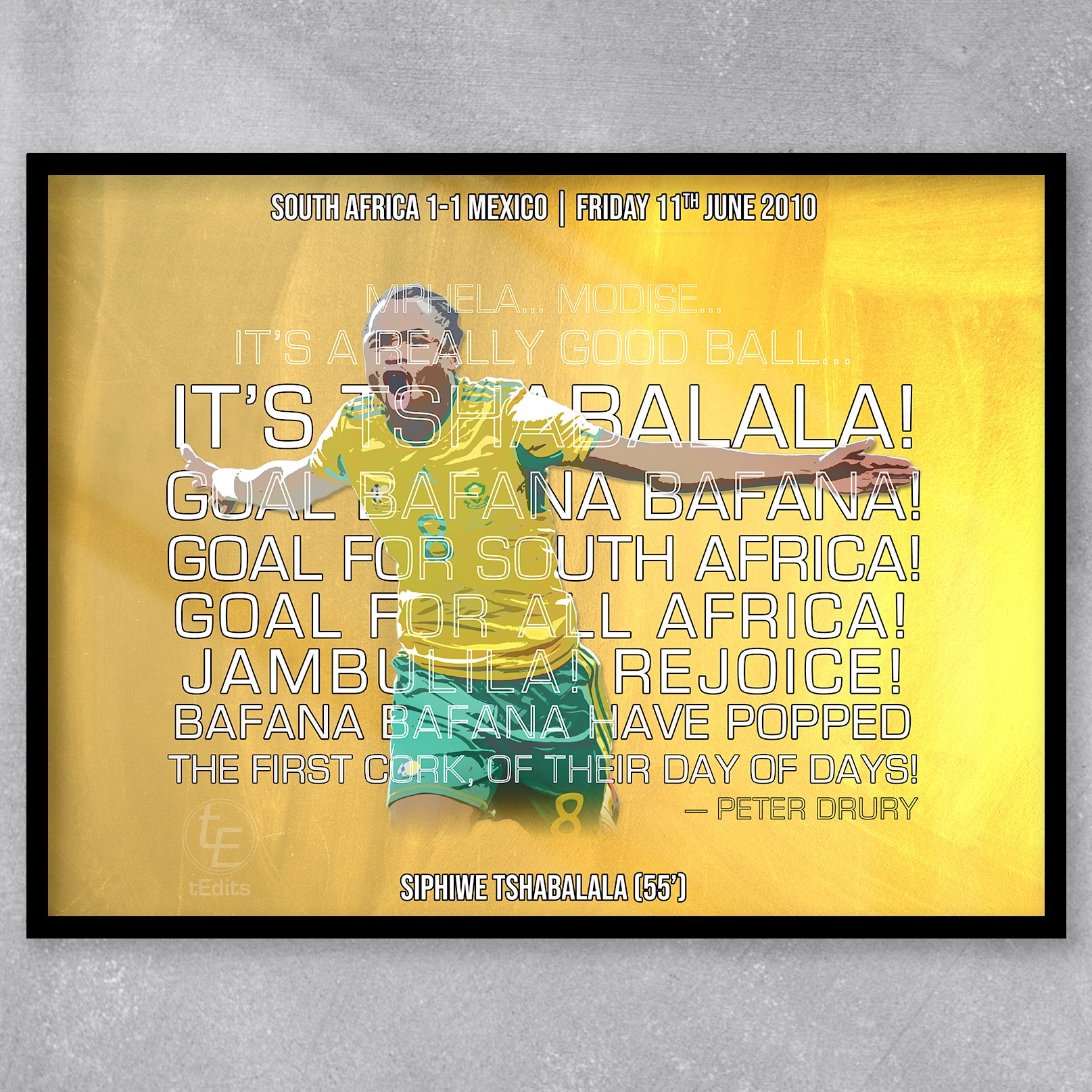 Siphiwe Tshabalala vs Mexico, 2010 | Football Moments