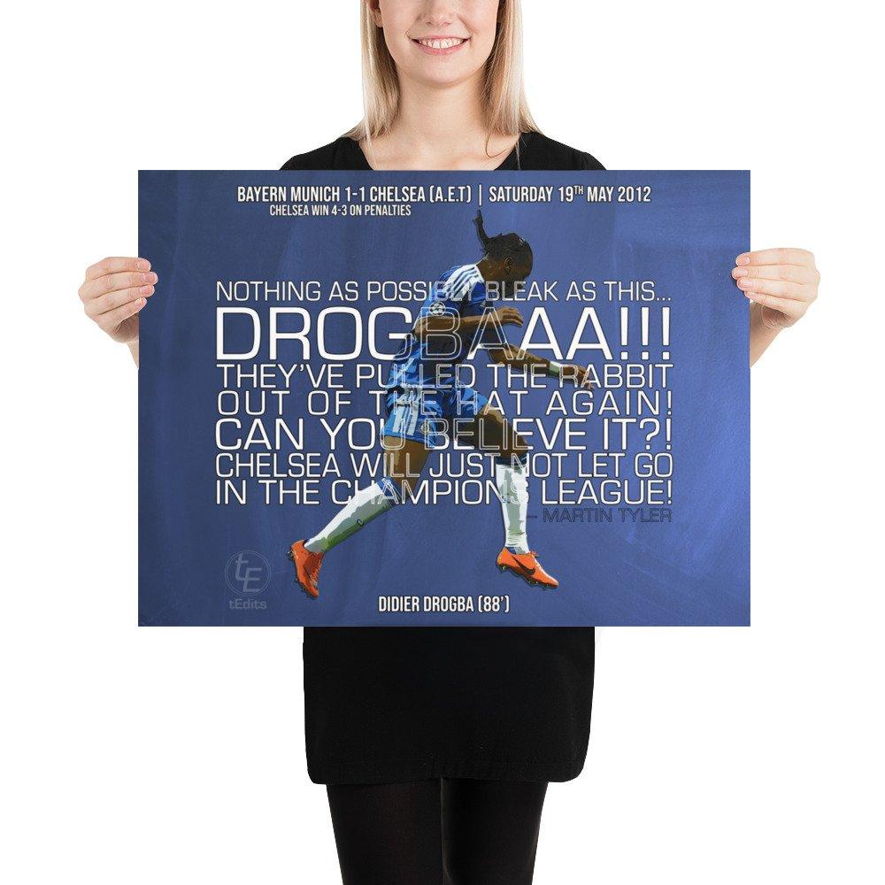 Didier Drogba vs Bayern Munich, 2012 | Poster