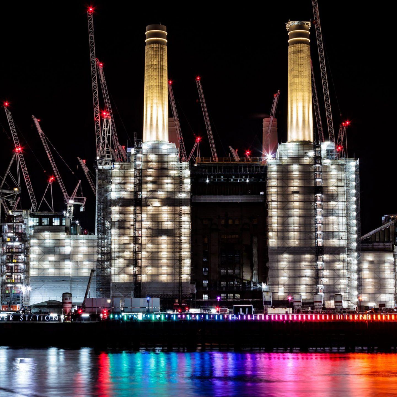 Battersea Power Station Light Festival - Eternal Sundown Main