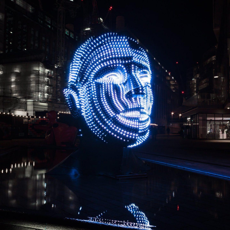 Battersea Power Station Light Festival - Talking Heads 6
