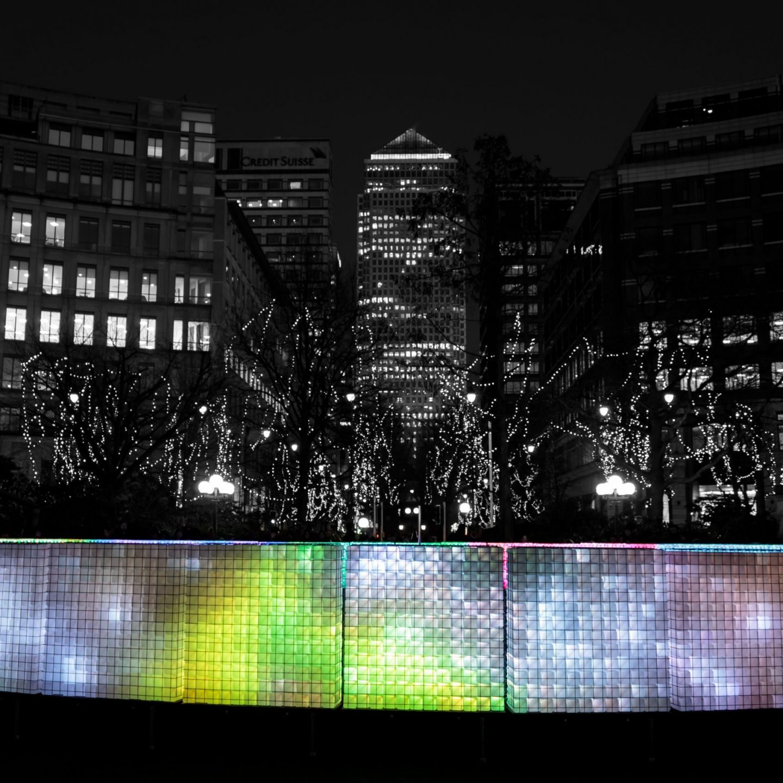 Canary Wharf Winter Lights 2020 - Lactolight 2