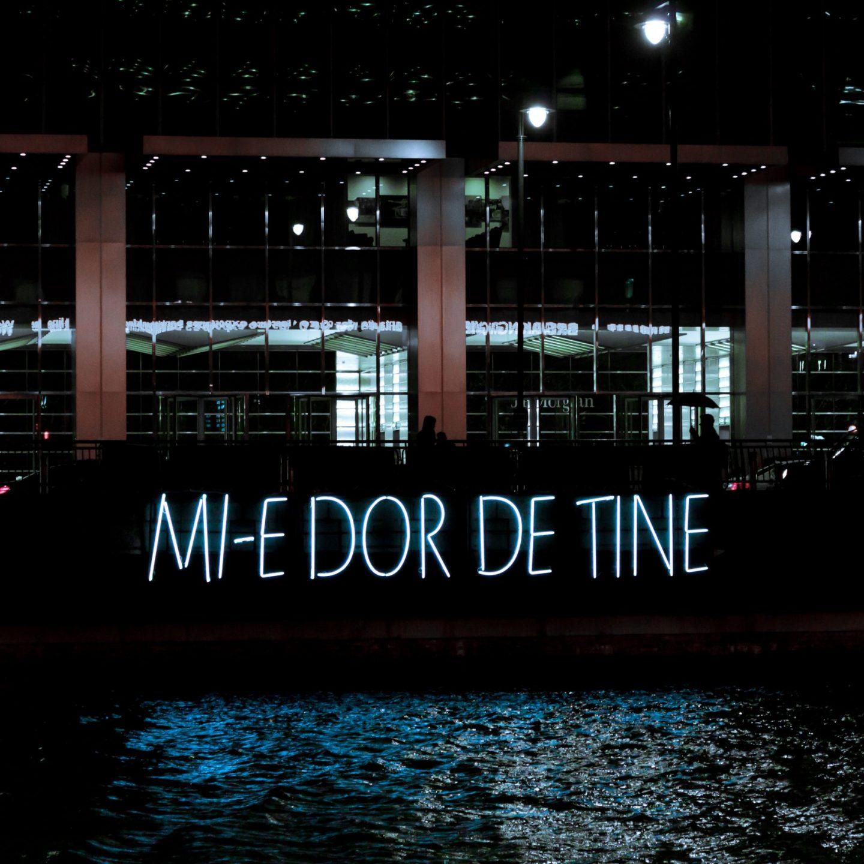 Canary Wharf Winter Lights 2020 - Mi-e Dor De Tine by Daisler Association