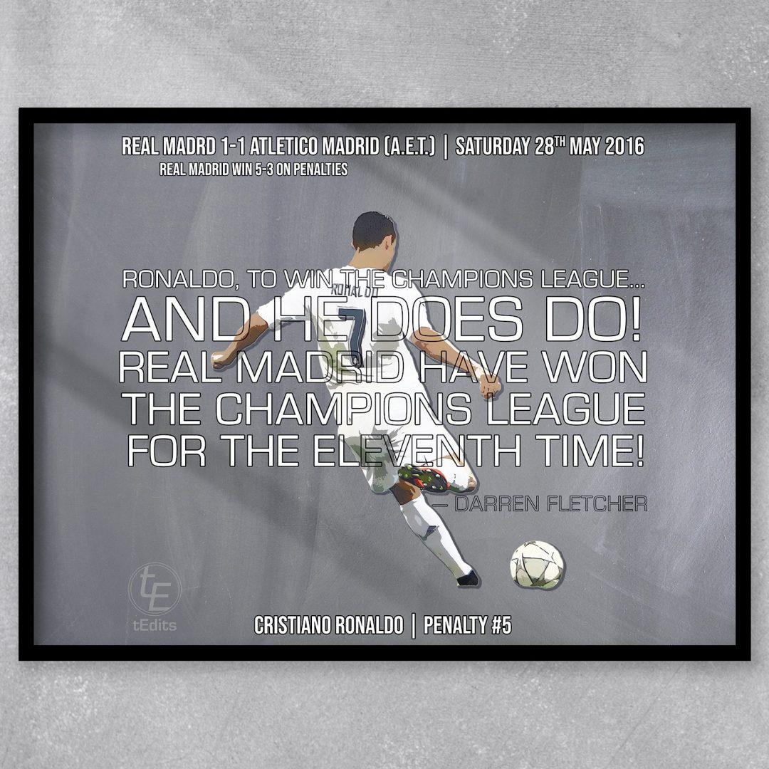 Cristiano Ronaldo vs Atletico 2016