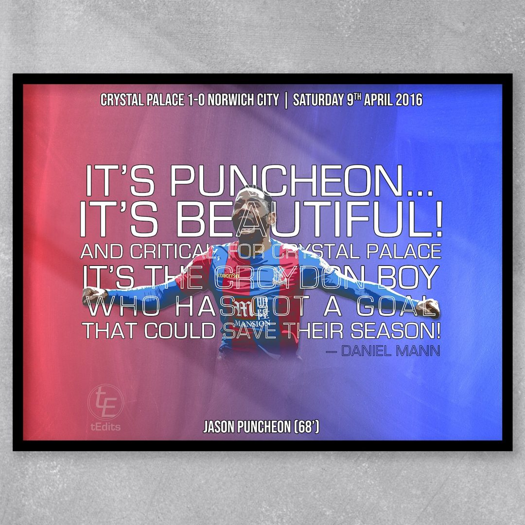Jason Puncheon vs Norwich, 2016
