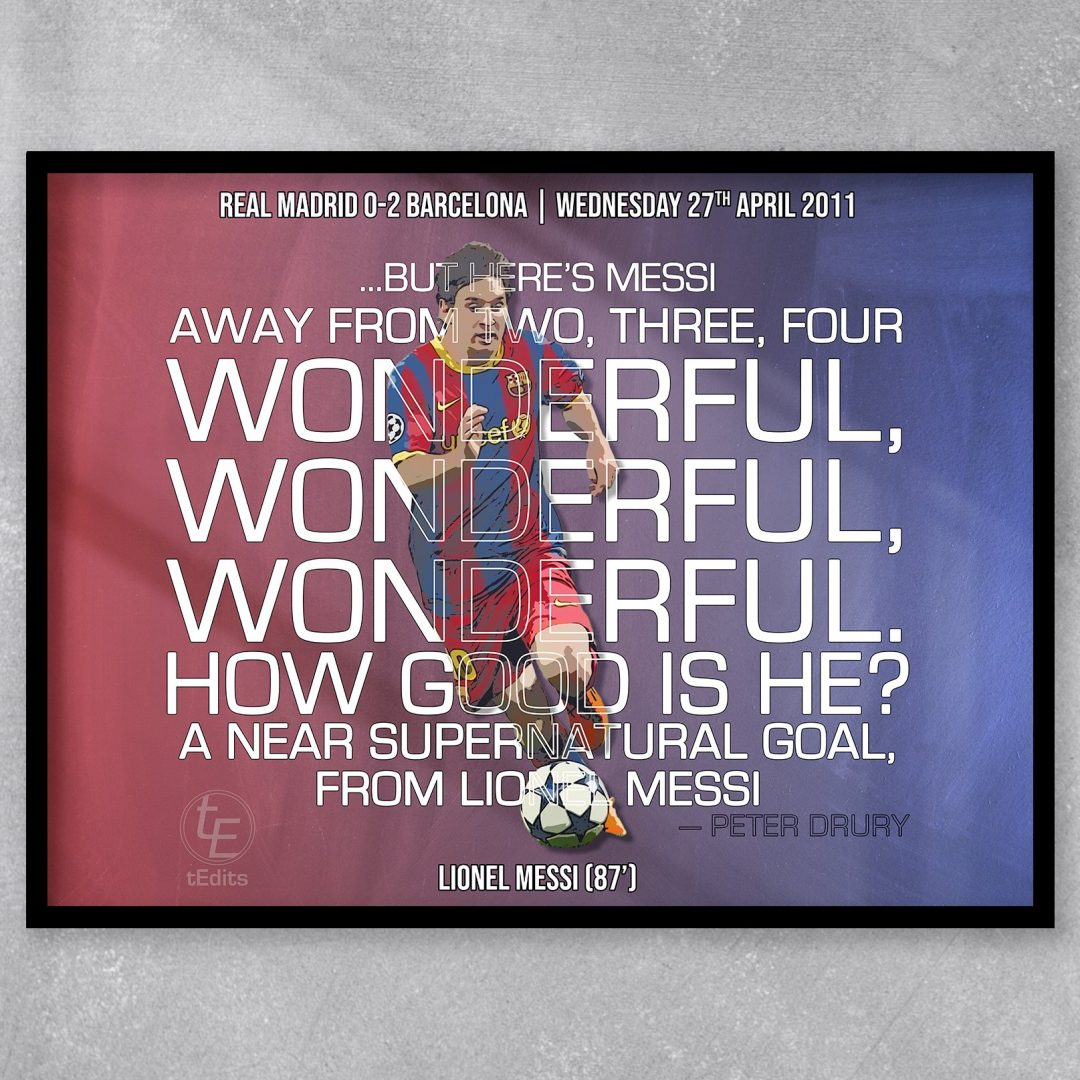 Lionel Messi vs Real Madrid, 2011