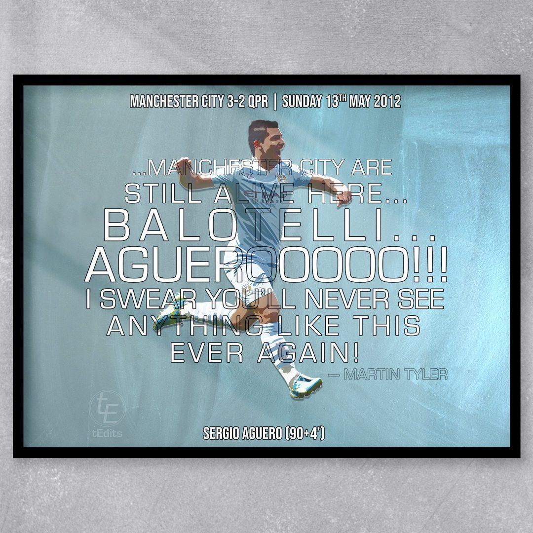 Sergio Aguero vs QPR, 2012